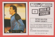 Derby County Peter Shilton England